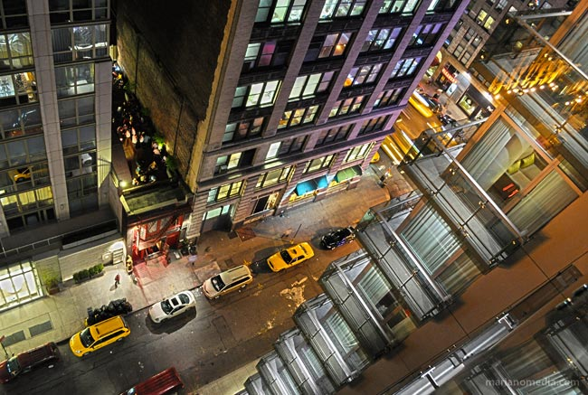 View from the top | Gansevoort Hotel